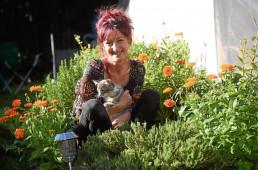 Scottish medical cannabis patient, Jacqui Ritchie