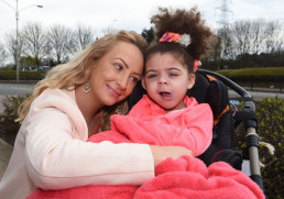 Louise Bostock and Kayla - legal cannabis patient