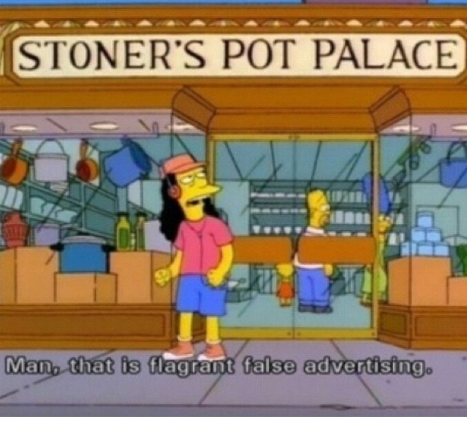 Simpsons cannabis