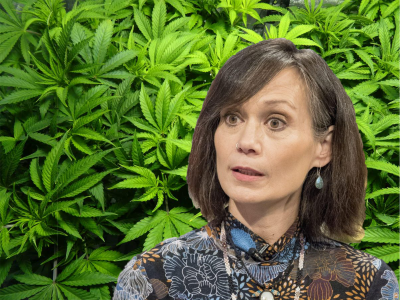 Medical cannabis user and Emmerdale actress: Leah Bracknell