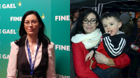 Yvonne Cahalane cannabis mother, Fine Gael party