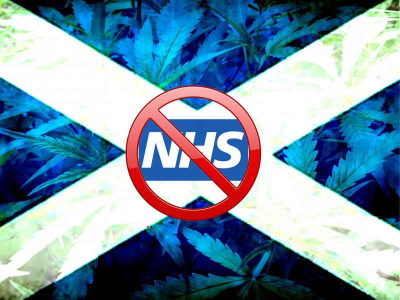 Medical cannabis restricted in Scotland