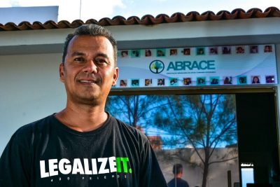 Brazilian Medical Marijuana activist: Cassiano and ABRACE