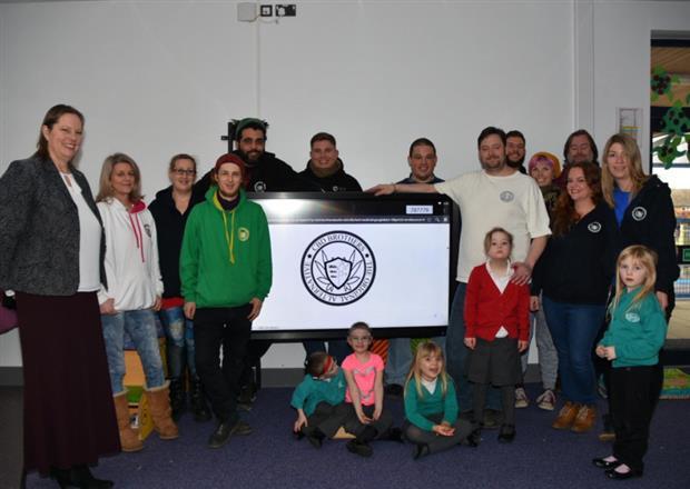 CBD company donates to local school